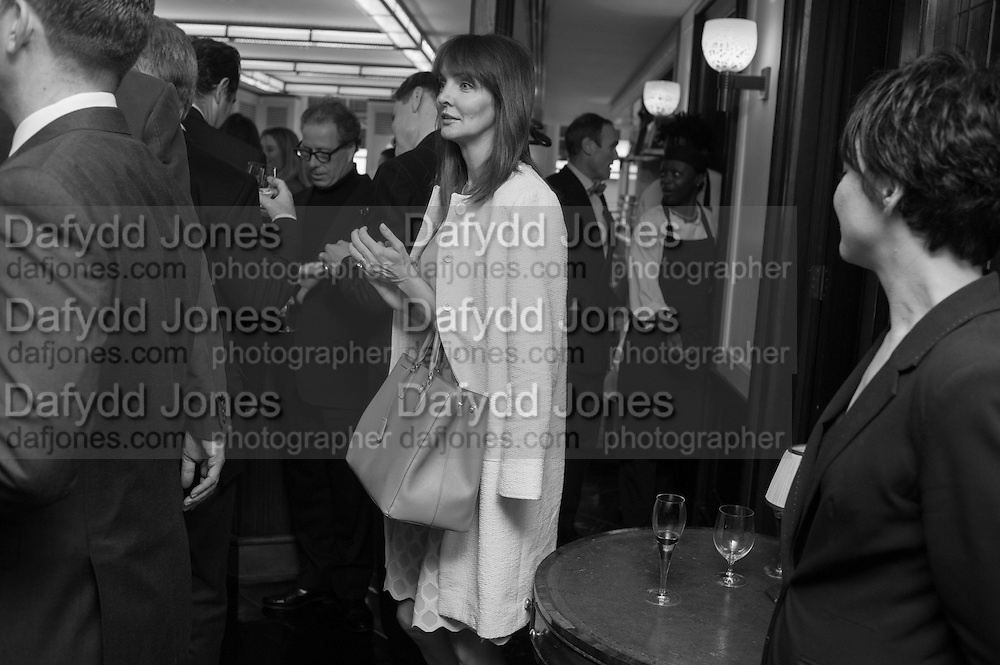 LAUREN GURVICH, Vanity Fair Lunch hosted by Graydon Carter. 34 Grosvenor Sq. London. 14 May 2013