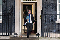 © Licensed to London News Pictures. 08/01/2018. London, UK. Attorney General Jeremy Wright leaves 10 Downing Street after staying in his post as Prime Minister Theresa May reshuffles the Cabinet. Photo credit: Rob Pinney/LNP