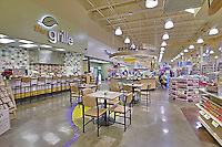 Architectural Interior of Maryland retail grocery store by photographher Jeffrey Sauersof Commercial Photographics