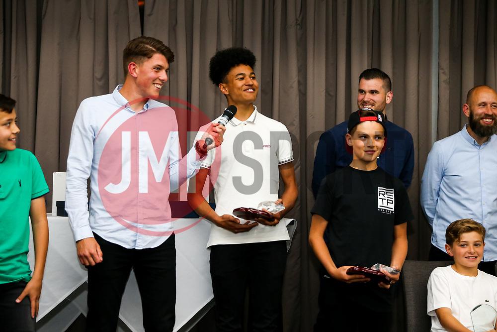 Bristol City Academy Schoolboy Awards Evening with Lloyd Kelly and Zak Vyner in attendance - Rogan/JMP - 30/05/2018 - Ashton Gate Stadium - Bristol, England.