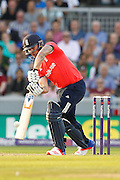 England's Jason Roy in action during the International T20 match between England and Pakistan at the Emirates, Old Trafford, Manchester, United Kingdom on 7 September 2016. Photo by Craig Galloway.