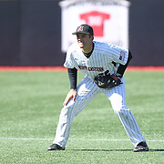 Jason Vosler #22 of the Northeastern Huskies is seen during the game at Friedman Diamond on March 16, 2014 in Brookline, Massachusetts. (Photo by Elan Kawesch)