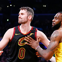 01-13 CLEVELAND CAVALIERS AT LOS ANGELES LAKERS