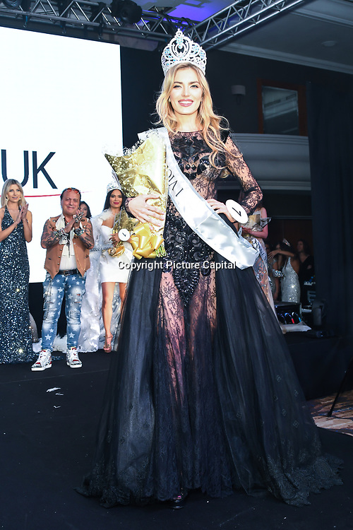 Kesnia Ocheredko is the 2nd of the Grand Final MISS USSR UK 2019 at Hilton Hotel Park Lane on 27 April 2019, London, UK.