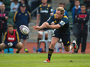 Highlanders player JOSH RENTON the Natixis Cup rugby match between French team Racing 92 and New Zealand team Otago Highlanders at Sui San Wan Stadium in Hong Kong