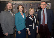 09/01/2017 Hugh Kelly, Maoin Cheoil na GaillimheHildegarde Naughton, TD, Mary Dooley, Chair, Galway Music Centre and Mark Duley, St. Nicholas Schola Cantorum in the Mick Lally Theatre , Druid for the launch of the Galway Music Centre. Photo: Andrew Downes,  xposure
