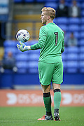 Ben Amos GK (Bolton Wanderers) during the Pre-Season Friendly match between Bolton Wanderers and Burnley at the Macron Stadium, Bolton, England on 26 July 2016. Photo by Mark P Doherty.