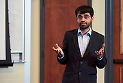 "Pratik Shriwas, a Doctoral Student studying Biological Sciences in the College of Arts and Sciences presents his thesis entitled ""Glucose-uptake inhibition: A novel way to starve cancer to death""."