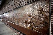 UNITED STATES-NEW YORK- Monument remembering 9/11. PHOTO: GERRIT DE HEUS.VERENIGDE STATEN-NEW YORK. Monument voor brandweerlieden die zijn omgekomen na de aanslagen op 11 september 2001. PHOTO COPYRIGHT GERRIT DE HEUS