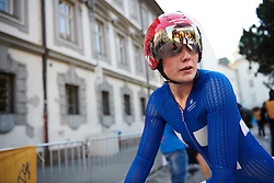 Lotta Lepistö (FIN) after the UCI Road World Championships 2018 - Elite Women's ITT, a 27.7 km individual time trial in Innsbruck, Austria on September 25, 2018. Photo by Sean Robinson/velofocus.com
