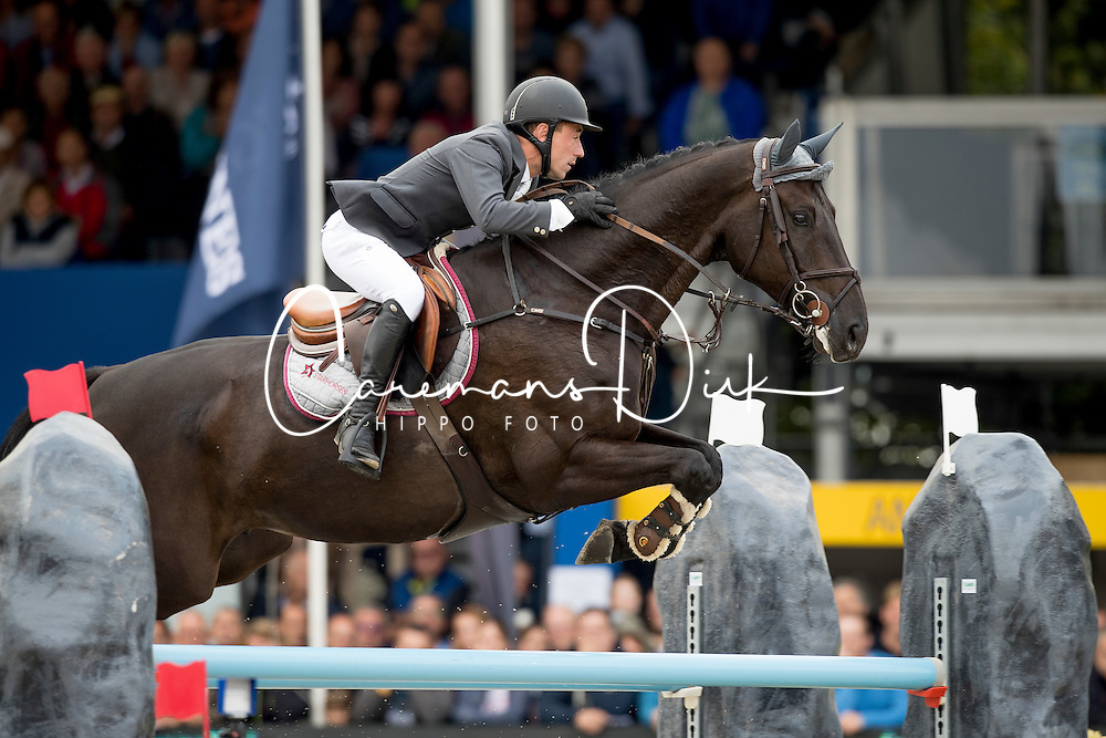 Goffinet Thierry, FRA, Kannabis vd Bucxtale<br /> FEI World Breeding Jumping Championships for Young horses - Lanaken 2016<br /> &copy; Hippo Foto - Dirk Caremans<br /> 18/09/16