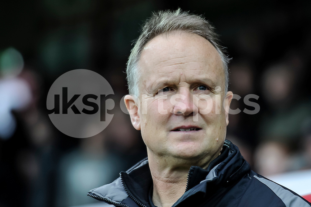 Sean O'Driscoll manager of Walsall during the The FA Cup third round match between Brentford and Walsall at Griffin Park, London, England on 9 January 2016. Photo by Salvio Calabrese.