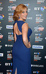 Pictured is Sarah-Jane Mee.<br /> <br /> BT Sport Industry Awards 2014 at Battersea Evolution, London, UK.<br /> <br /> Thursday, 8th May 2014. Picture by Ben Stevens / i-Images