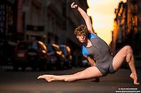 Manhattanhenge New York City- Dance As Art Photography Project featuring dancer,