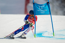 18-02-2018 KOR: Olympic Games day 9, Pyeongchang<br /> Alpine Skiing Men's Giant Slalom at Yongpyong Alpine Centre / Alexis Pinturault of France