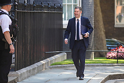 © Licensed to London News Pictures. 23/07/2019. London, UK. Justice Secretary David Gauke arrives on Downing Street for the final Cabinet meeting under Prime Minister Theresa May. The result of the Conservative Party leadership contest will be announced this morning. Photo credit: Rob Pinney/LNP