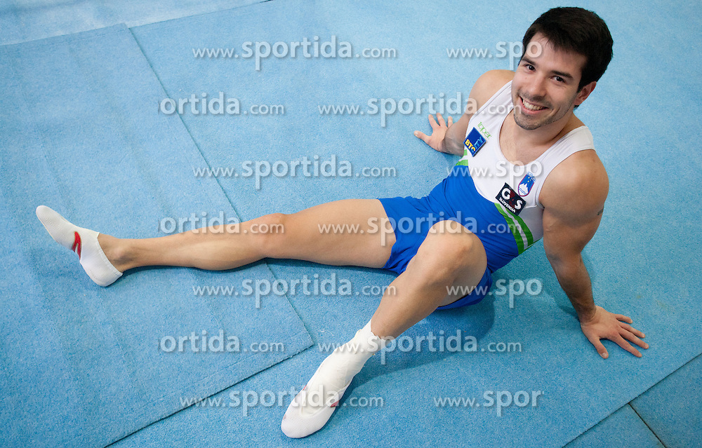 Rok Klavora during Slovenian Artistic Gymnastics National Chapionship 2011, on November 20, 2011 in GIB Arena, Ljubljana, Slovenia. (Photo By Vid Ponikvar / Sportida.com)