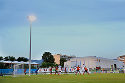 AUBAGNE, FRANCE - Monday, May 29, 2017: A general view during the Toulon Tournament Group A match between England U18 and Angola U20 at the Stade de Lattre-de-Tassigny. (Pic by David Rawcliffe/Propaganda)
