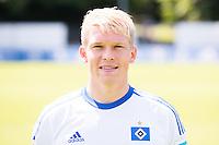 German Soccer Bundesliga 2015/16 - Photocall of Hamburger SV on 15 July 2015 in Hamburg, Germany: Artjoms Rudnevs
