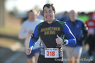 Jacob Dielz was the winner of the inaugural Run4Hope half marathon on Saturday, February 27, 2010 in Oxford, Miss.