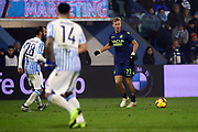 Foto LaPresse/Filippo Rubin<br /> 26/12/2018 Ferrara (Italia)<br /> Sport Calcio<br /> Spal - Udinese - Campionato di calcio Serie A 2018/2019 - Stadio &quot;Paolo Mazza&quot;<br /> Nella foto: ANTONIN BARAK (UDINESE)<br /> <br /> Photo LaPresse/Filippo Rubin<br /> December 26, 2018 Ferrara (Italy)<br /> Sport Soccer<br /> Spal vs Udinese - Italian Football Championship League A 2018/2019 - &quot;Paolo Mazza&quot; Stadium <br /> In the pic: ANTONIN BARAK (UDINESE)