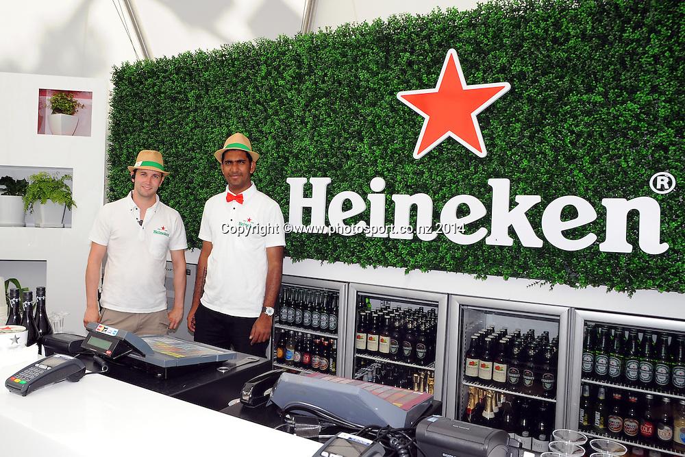 Heineken Open Day 2. ASB Tennis Centre, Auckland, New Zealand. Tuesday 7 January 2014. Photo: Chris Symes/www.photosport.co.nz