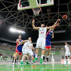 20120404: SLO, Basketball - Telemach League, KK Union Olimpija Ljubljana vs Sentjur