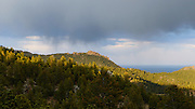 View from back deck, Boulder, Colorado