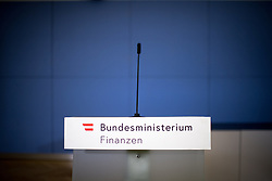"07.03.2019, Finanzministerium, Wien, AUT, Bundesregierung, Pressekonferenz zum Thema ""Betrugsbekämpfung"", im Bild Feature Finanzminister // during a media conference due to combating of fraud at finance ministry in Vienna, Austria on 2019/03/07, EXPA Pictures © 2019, PhotoCredit: EXPA/ Michael Gruber"