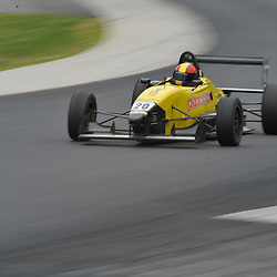 May 23, 2009; Lakeville, CT, USA; Caitlin Johnston races in the first Formula 2000 Championship Series race during the Memorial Day Road Racing Classic weekend at Lime Rock Park.