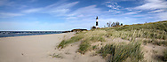 Big Sable Point Lighthouse And Lake Michigan, Michigan's Lower Peninsula