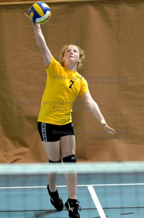 14-05-2006 VOLLEYBAL: NEDERLANDS VOLLEYBAL SCHOOL: EINDHOVEN<br /> Nederlands kampioenschap Volleybal school / Jeugd, nk<br /> &copy;2006-WWW.FOTOHOOGENDOORN.NL
