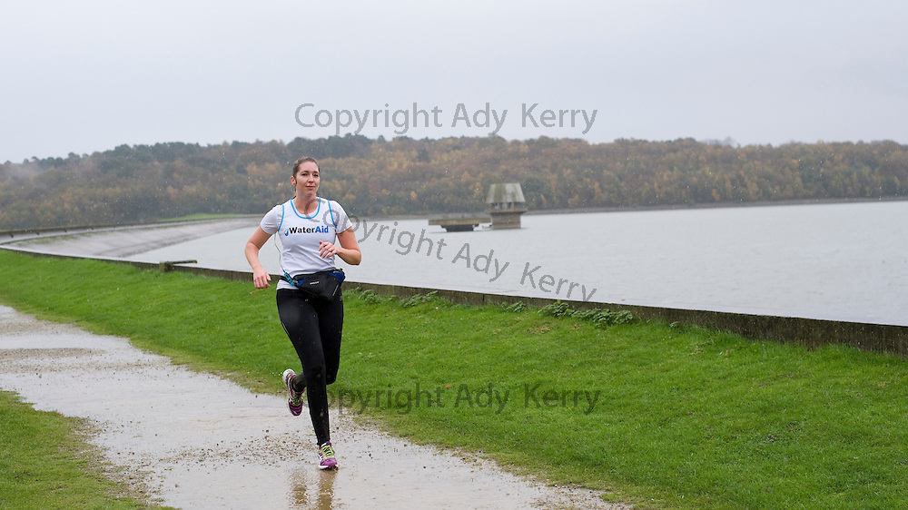 Walk / run round Bewl Water for Water Aid by South East Water Staff, 9th November 2013.