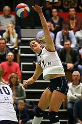 20160409 NED: Volleybal: Sliedrecht Sport - Eurosped TVT, Sliedrecht  <br />Nienke de Waard