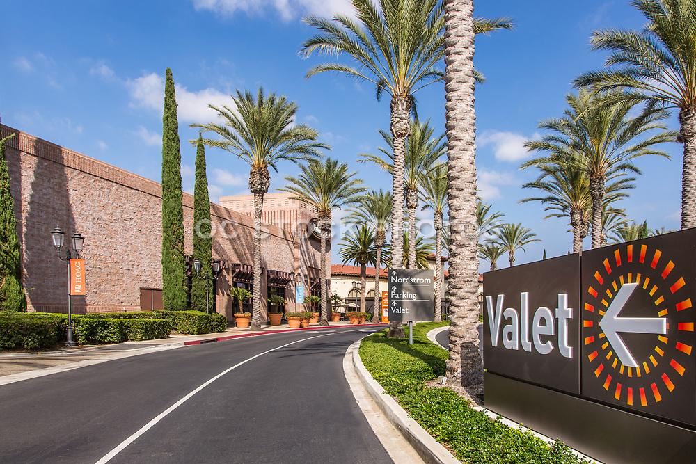Valet Parking at the Irvine Spectrum Center