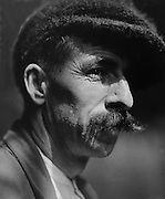Austrian man with mustache, Austria, c1921