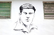Revolutionary portrait in Tacajo, Holguin, Cuba.