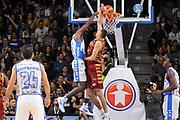 DESCRIZIONE : Campionato 2015/16 Serie A Beko Dinamo Banco di Sardegna Sassari - Umana Reyer Venezia<br /> GIOCATORE : Christian Eyenga<br /> CATEGORIA : Schiacciata Controcampo<br /> SQUADRA : Dinamo Banco di Sardegna Sassari<br /> EVENTO : LegaBasket Serie A Beko 2015/2016<br /> GARA : Dinamo Banco di Sardegna Sassari - Umana Reyer Venezia<br /> DATA : 01/11/2015<br /> SPORT : Pallacanestro <br /> AUTORE : Agenzia Ciamillo-Castoria/C.Atzori