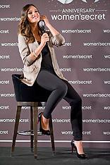 SEP 11 2013 Sara Carbonero New Image of 'Women Secret' in Madrid