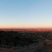 Panoramic view of the South East Valley - view from San Tan Regional Park, Queen Creek, AZ