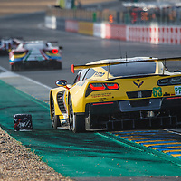 #63, Corvette Racing-GM,Chevrolet Corvette C7.R, driven by: Jan Magnussen, Antonio Garcia, Jordan Taylor on 15/06/2017 at the 24H of Le Mans, 2017
