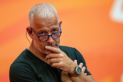 09-06-2019 NED: Golden League Netherlands - Spain, Koog aan de Zaan<br /> Fourth match poule B - The Dutch beat Spain again in five sets in the European Golden League / Entertainment, John Stubbe