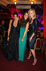 Left to right, TRACEY EMIN,  Actress UMA THURMAN and ELIZABETH SALTZMAN at the NSPCC's Dream Auction held at The Royal Albert Hall, London on 9th May 2006.<br /><br />NON EXCLUSIVE - WORLD RIGHTS