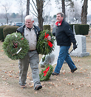 Laconia Rotary Wreaths across America at Bayside Cemetery December 11, 2010