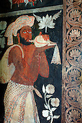 Murals at Kelaniya Temple.