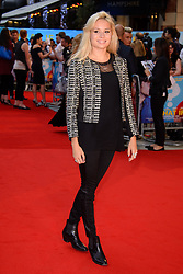 Image ©Licensed to i-Images Picture Agency. 12/08/2014. London, United Kingdom. <br /> Nina Nesbitt attends the What If - UK film premiere. Leicester Square. Picture by Chris Joseph / i-Images