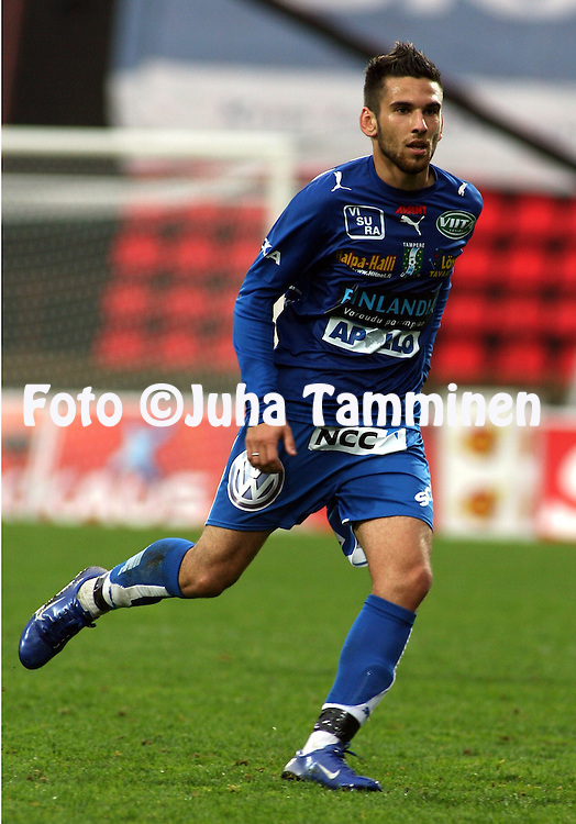 28.05.2007, Ratina, Tampere, Finland..Veikkausliiga 2007 - Finnish League 2007.Tampere United - FC Lahti.Tomi Petrescu - TamU.©Juha Tamminen.....ARK:k