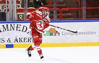 2020-03-07   Ljungby, Sverige: Troja-Ljungby (3) Kevin Karlsson under matchen i Hockeyettan mellan IF Troja/Ljungby och Bodens HF i Ljungby Arena ( Foto av: Fredrik Sten   Swe Press Photo )<br /> <br /> Nyckelord: Ljungby, Ishockey, Hockeyettan, Ljungby Arena, IF Troja/Ljungby, Bodens HF, fstb200307, playoff, kval