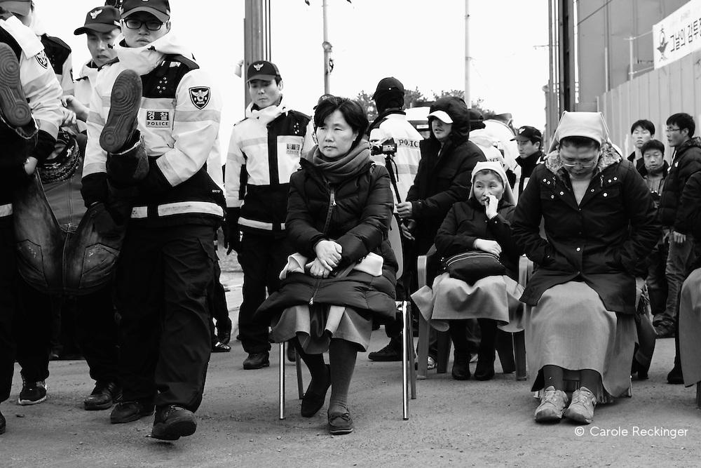 Gangjeong, anti-naval base protest
