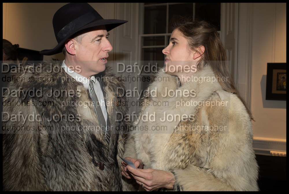 GAZ MAYALL; ELINOR FAHRMAN, Private view, Paul Simonon- Wot no Bike, ICA Nash and Brandon Rooms, London. 20 January 2015